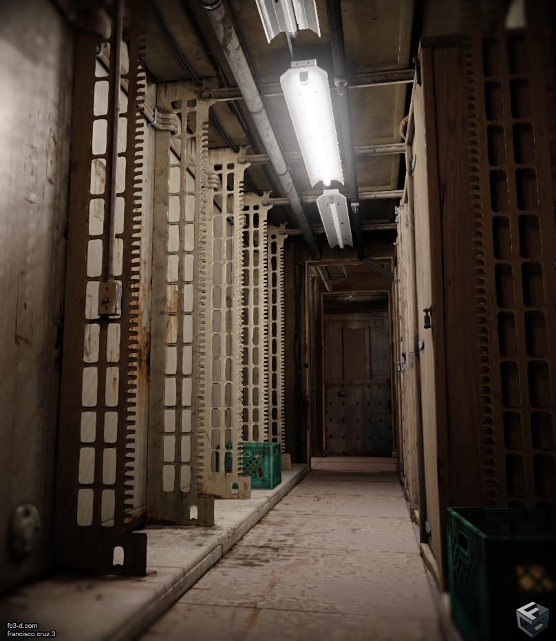 Francisco cruz hallway 15a