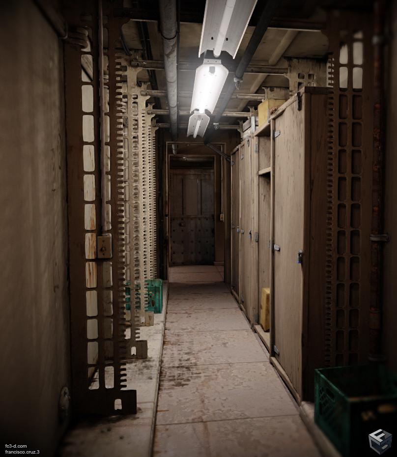 Francisco cruz hallway 15b