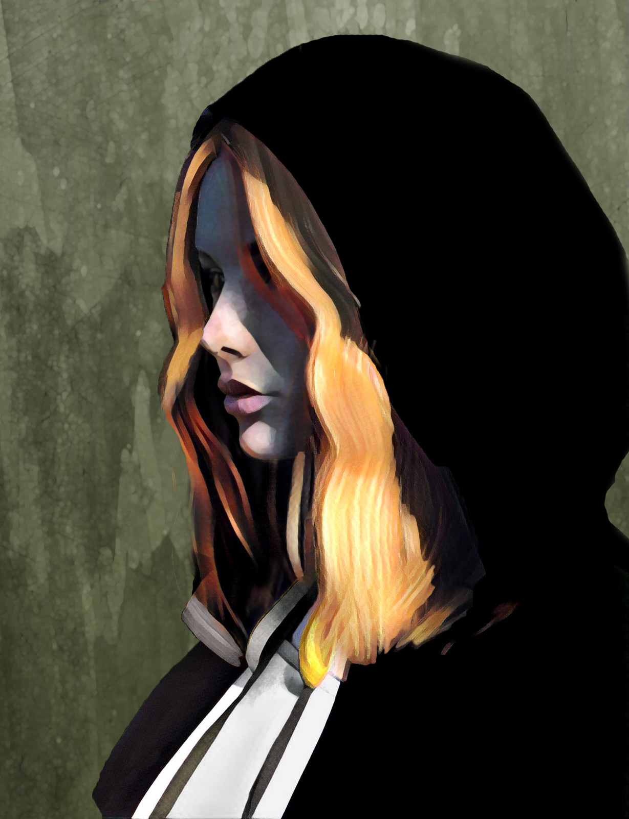 Portrait Study - Cloaked