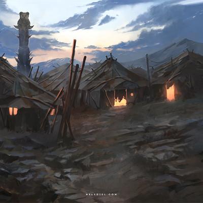 Nele diel tribal village