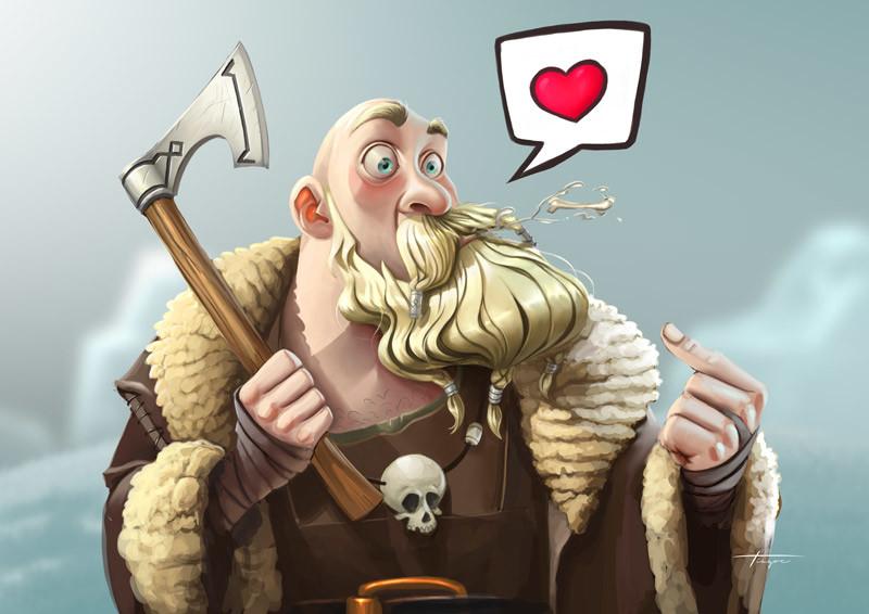 Big Vik - The Unlovable Viking!