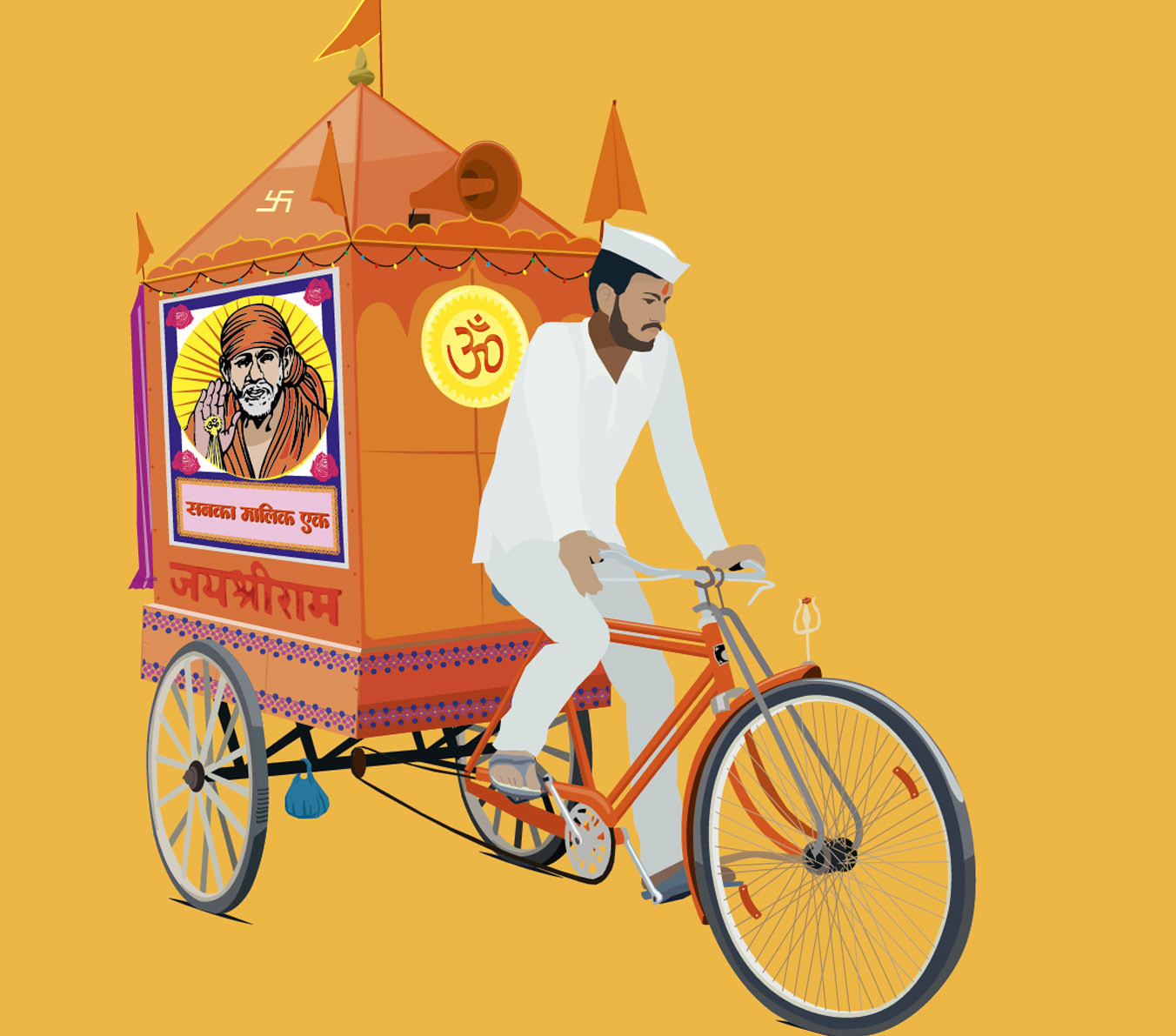 Rajesh sawant mobile god close up