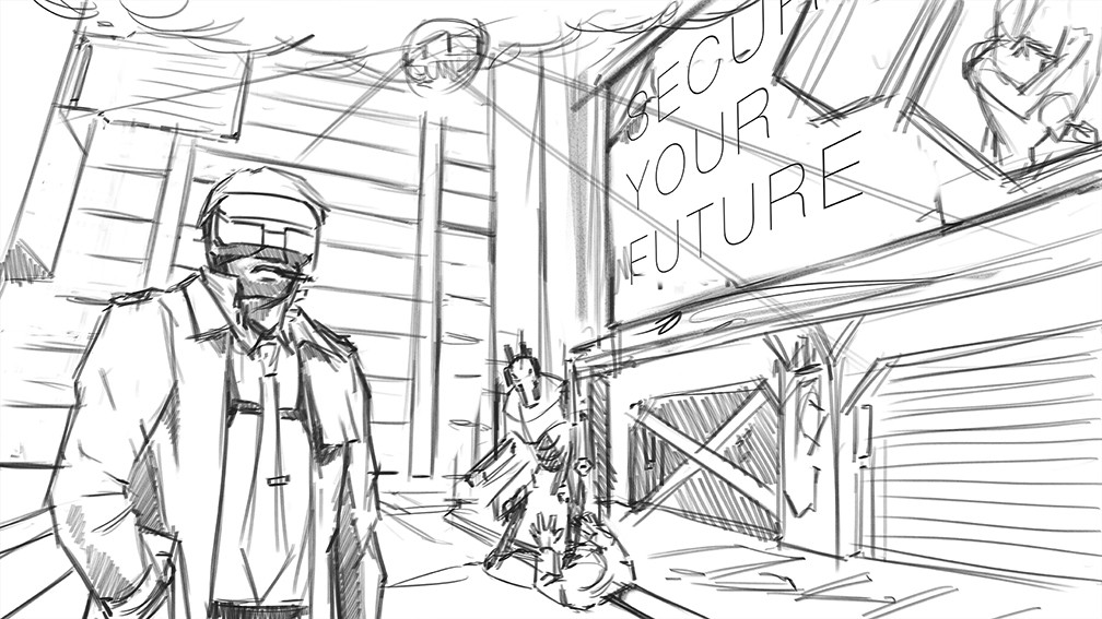 Yun nam 17 03 30 cyberpunk4 slum sketch