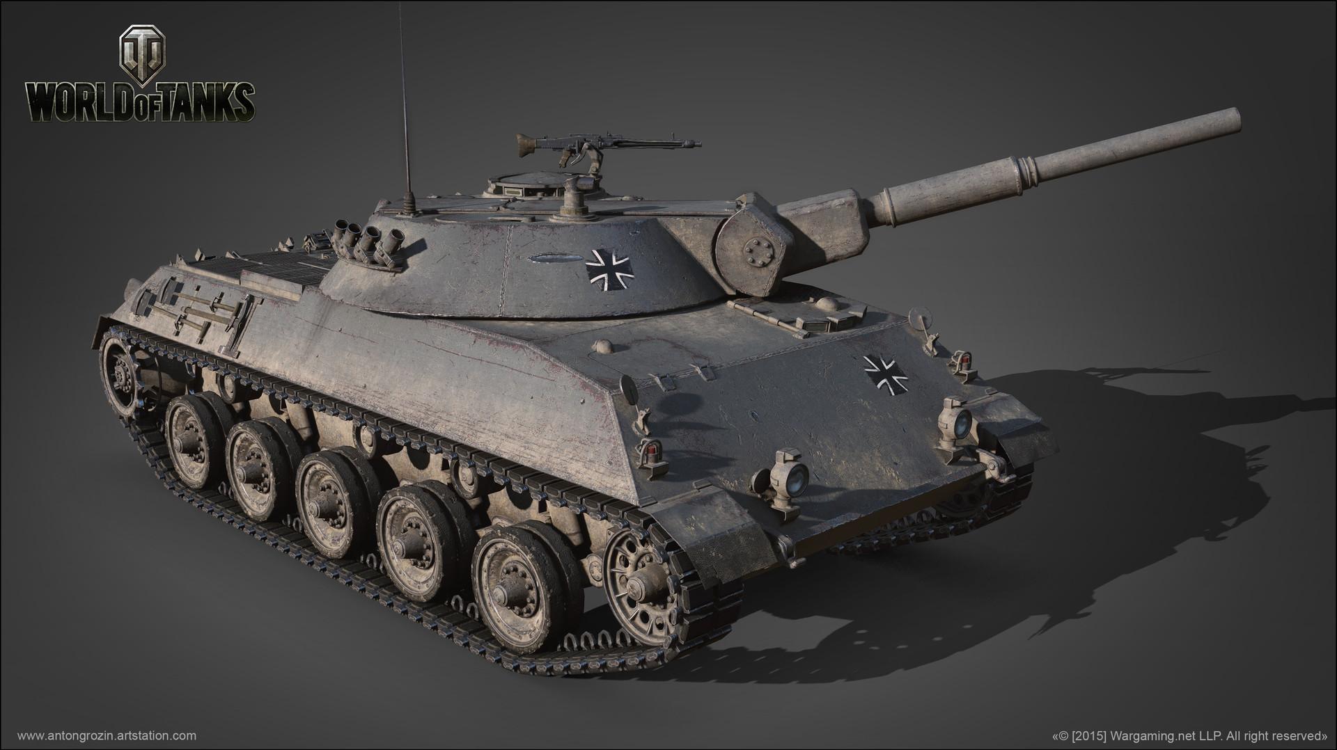 Anton Grozin Rheinmetall Panzerwagen