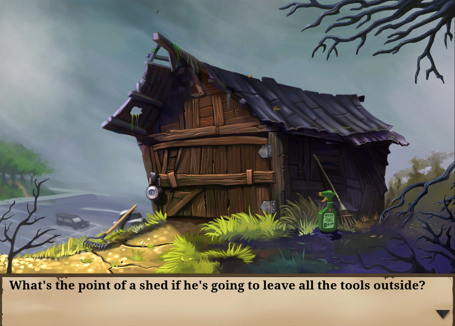 'Goosebumps': 2D Graphic Adventure
