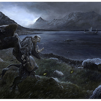 Loic canavaggia troll des fjords cadre2