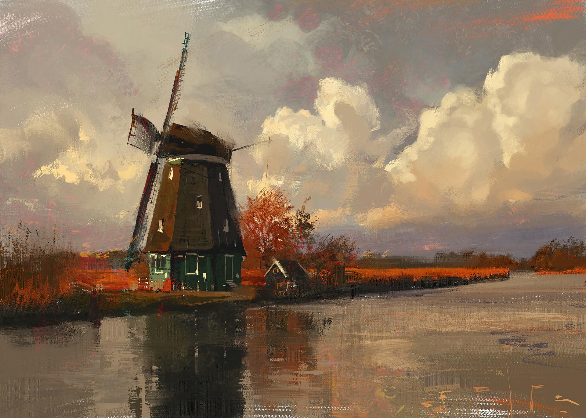 Grzegorz rutkowski old windmill 1920