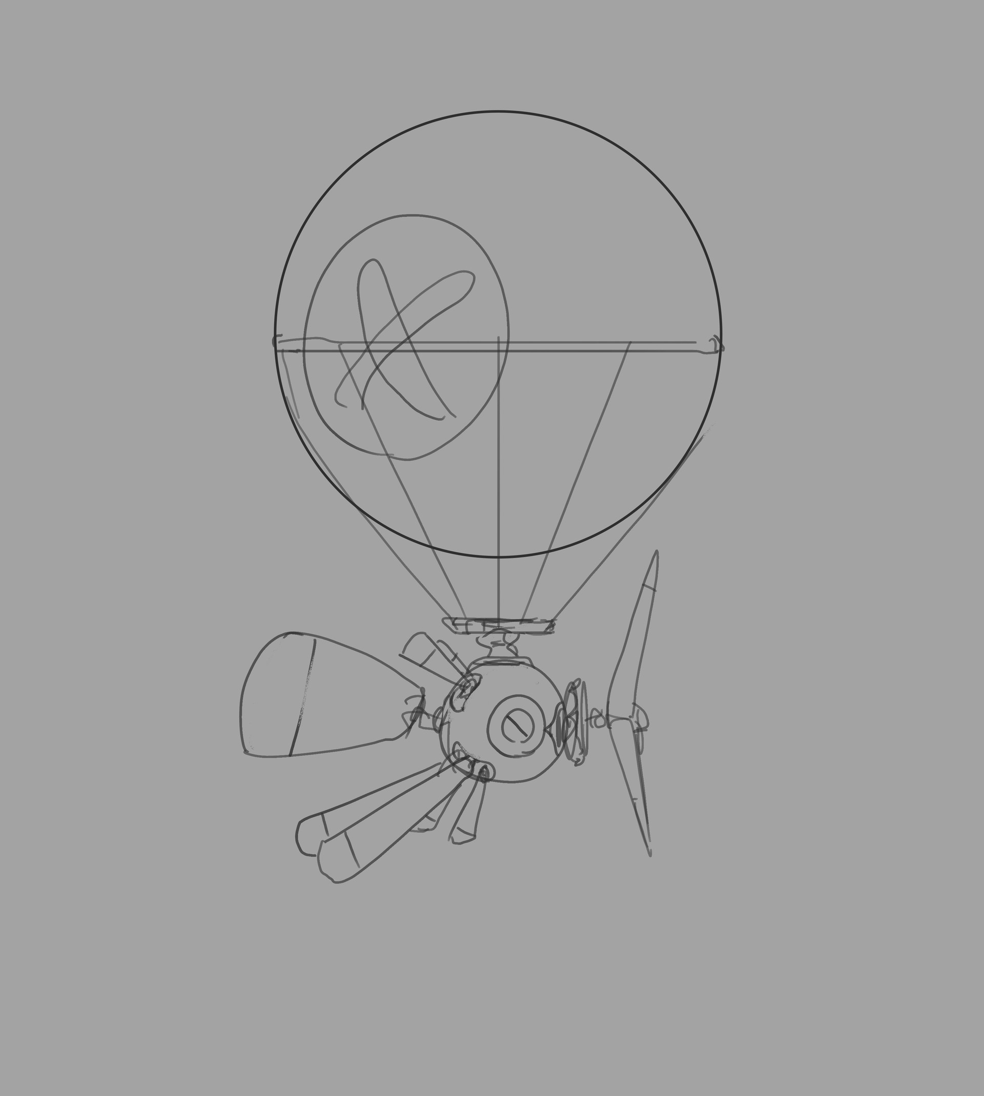 Samuel herb balloon drone sketch