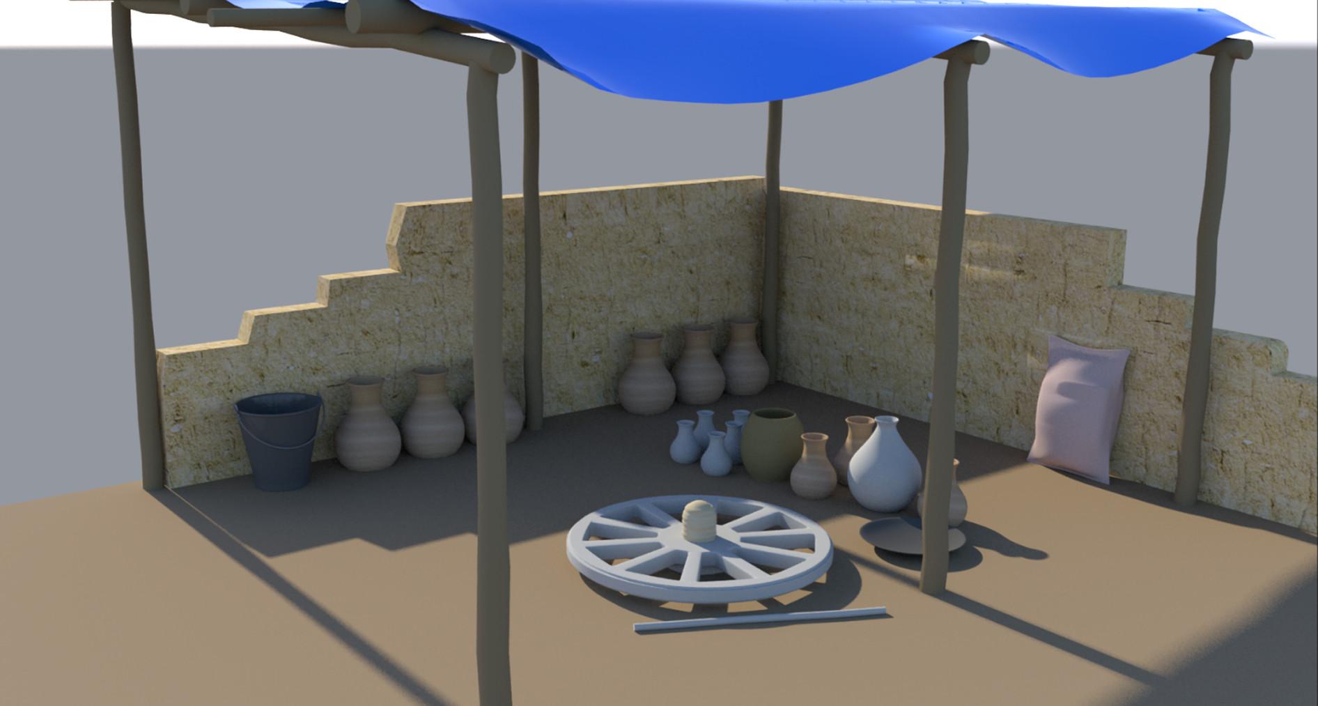 Rajesh sawant potters wheel 3