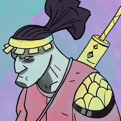 Niklas hook samurai sketch