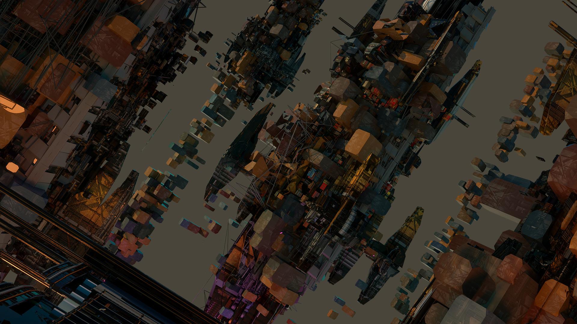 Leon tukker favela 3d
