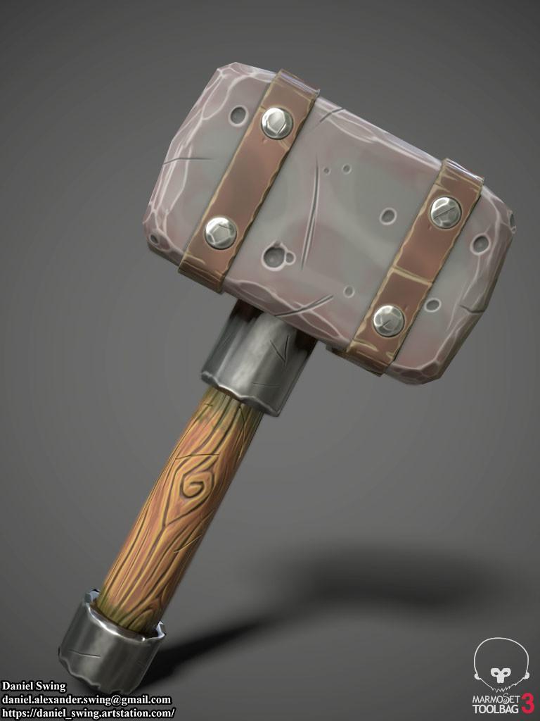Daniel swing stylizedhammer 2