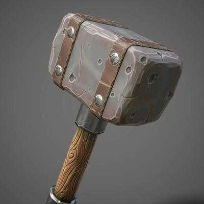 Daniel swing stylizedhammer 1