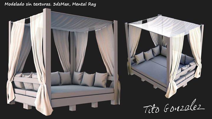 ArtStation - pallet furnitures, Tito González