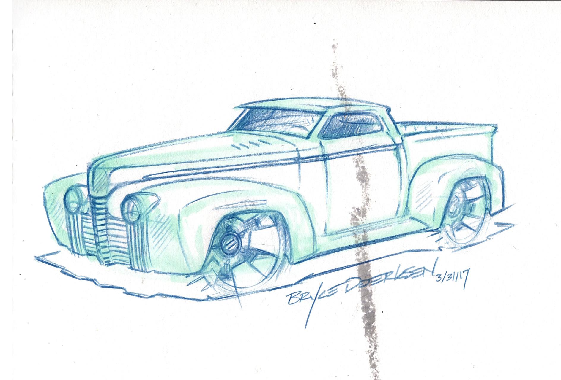 Bryce Doerksen - Vehicle Doodles