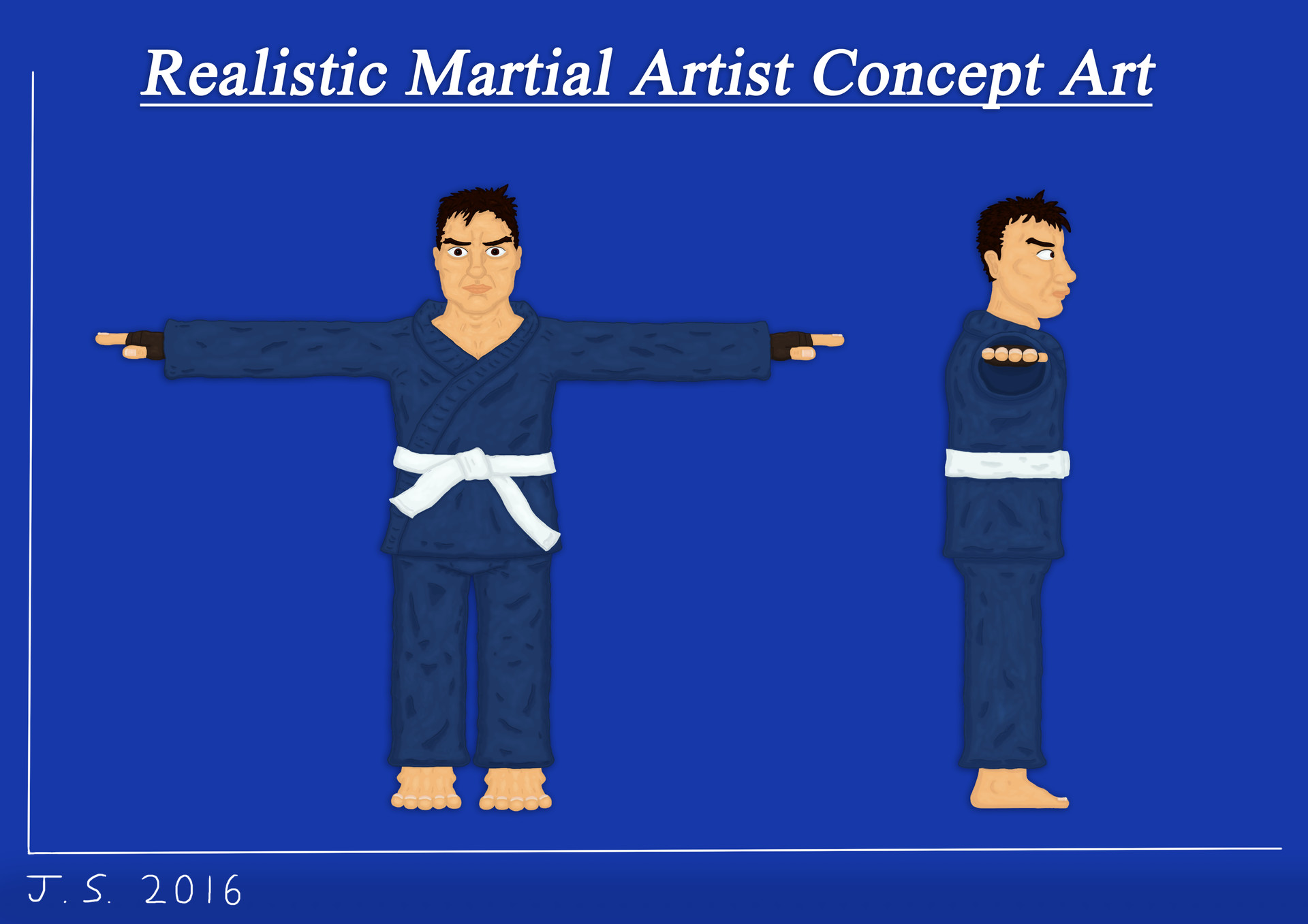James skinner martialartist concept