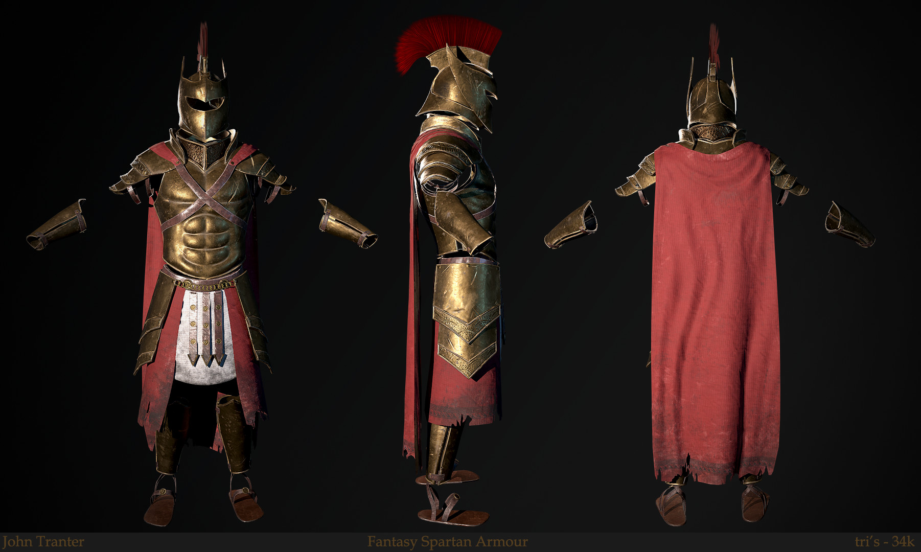 how to make spartan armor