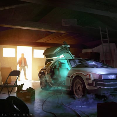 Sylvain sarrailh backtofuturegarage
