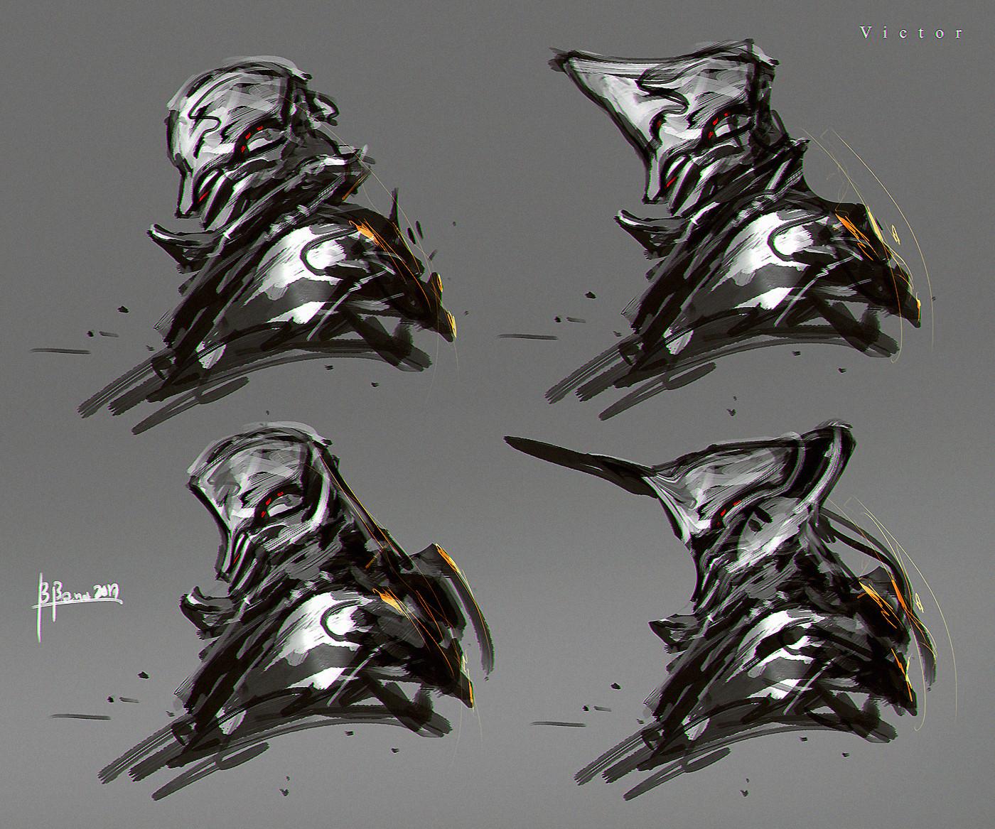Benedick bana warframe hex design victor lores