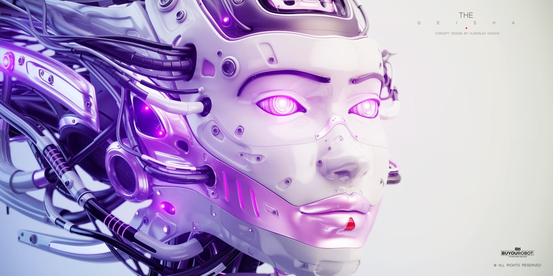 Vladislav ociacia geisha robot 4