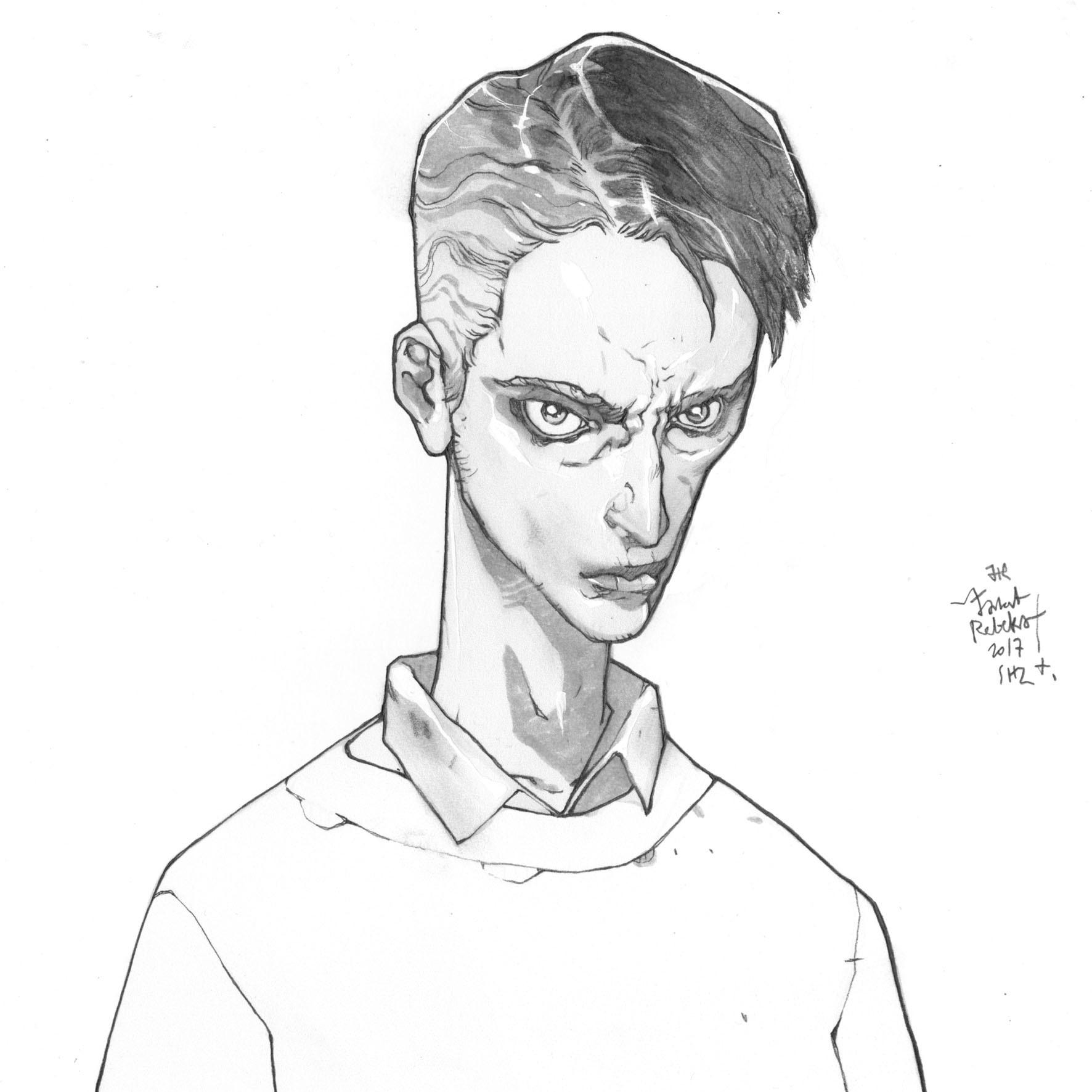 Jakub rebelka cure sketch