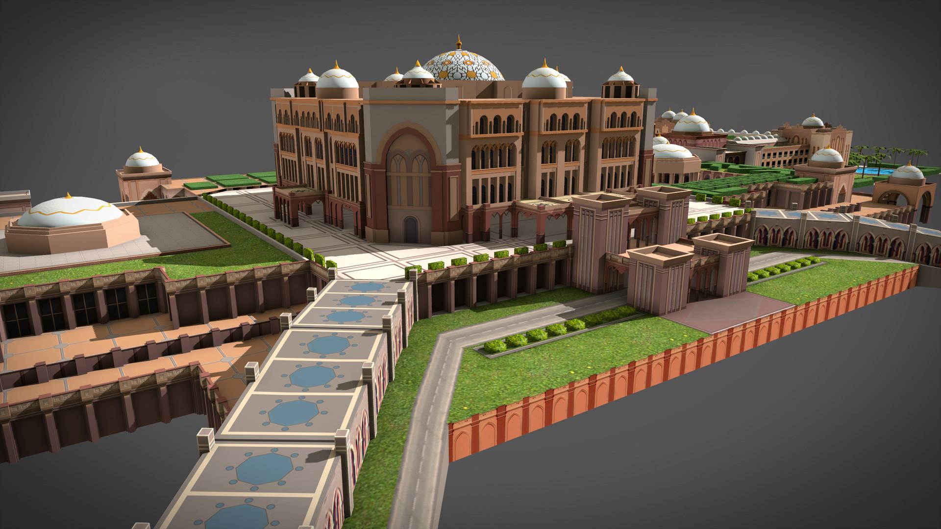 artstation emirates palace hotel fidel hau