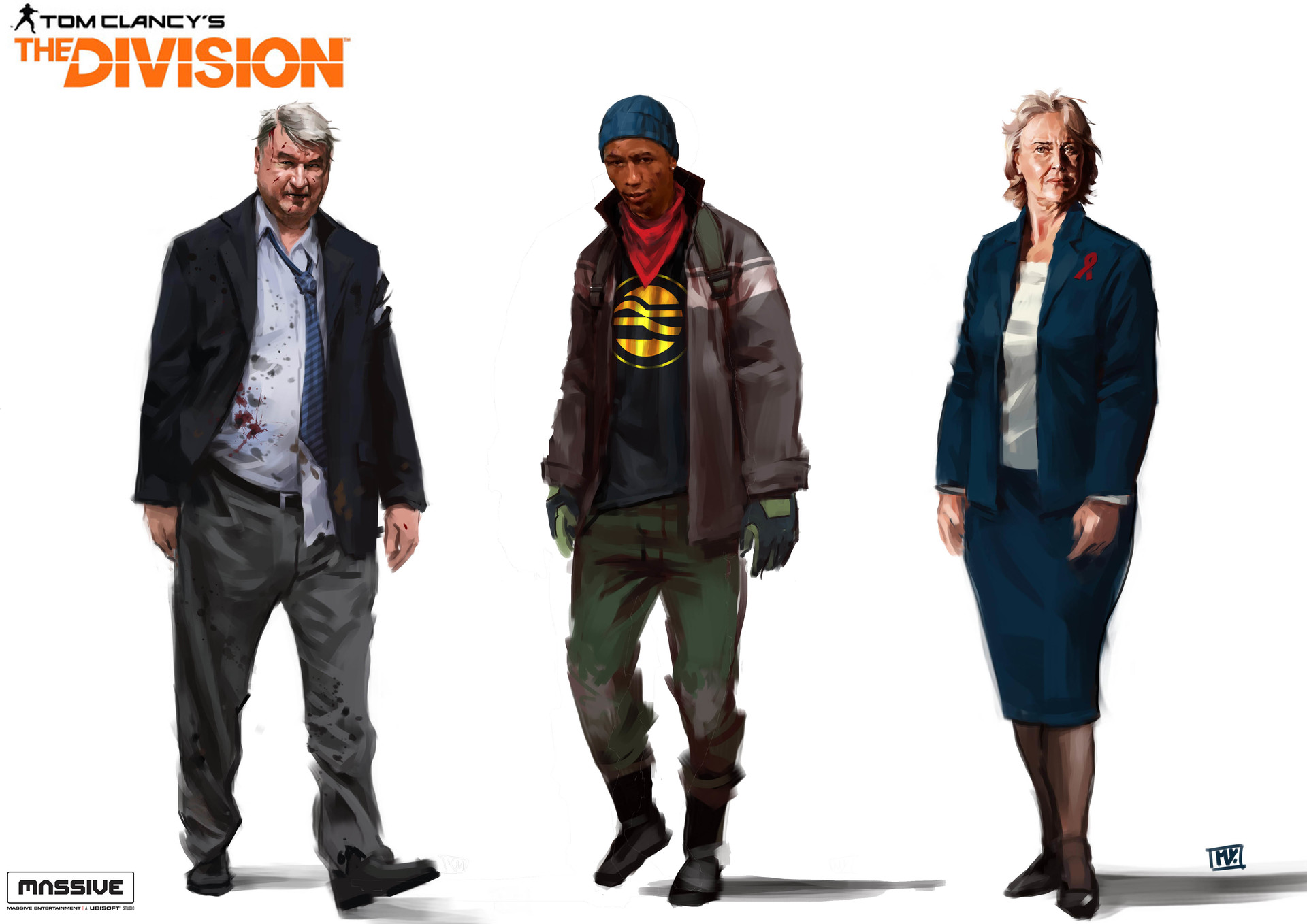 Miguel iglesias thedivision mixcharacters12