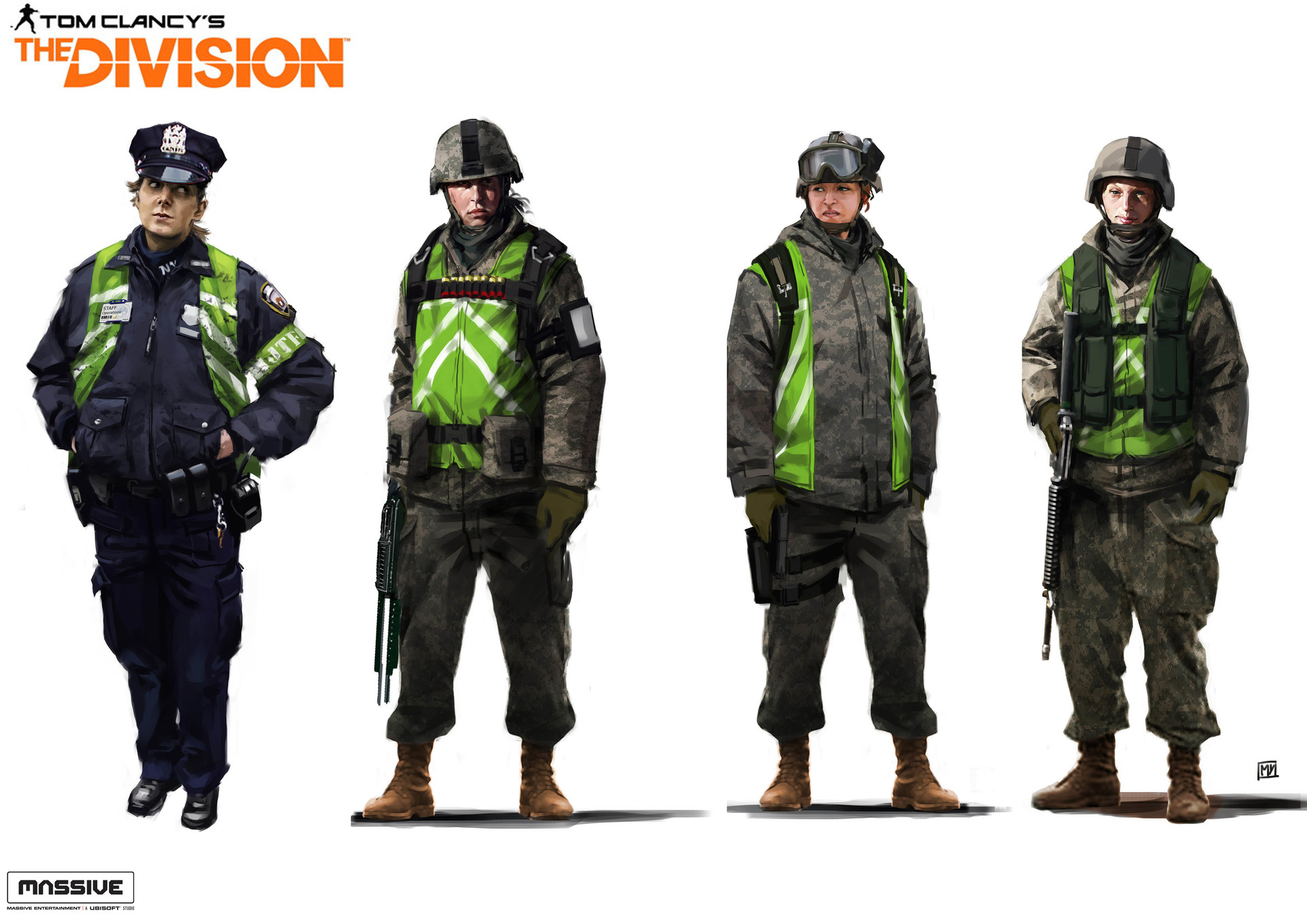 Miguel iglesias thedivision mixcharacters10