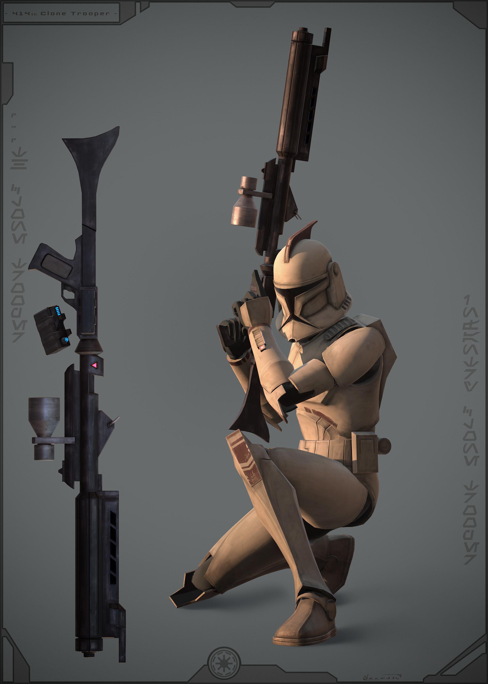 Etienne beschet 414th clonetrooper