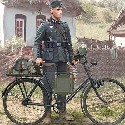 Valery petelin german bicycle 1