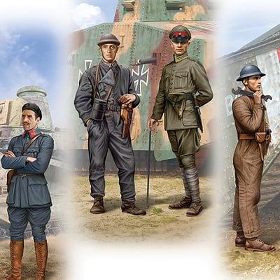 Valery petelin ww1 tank crews