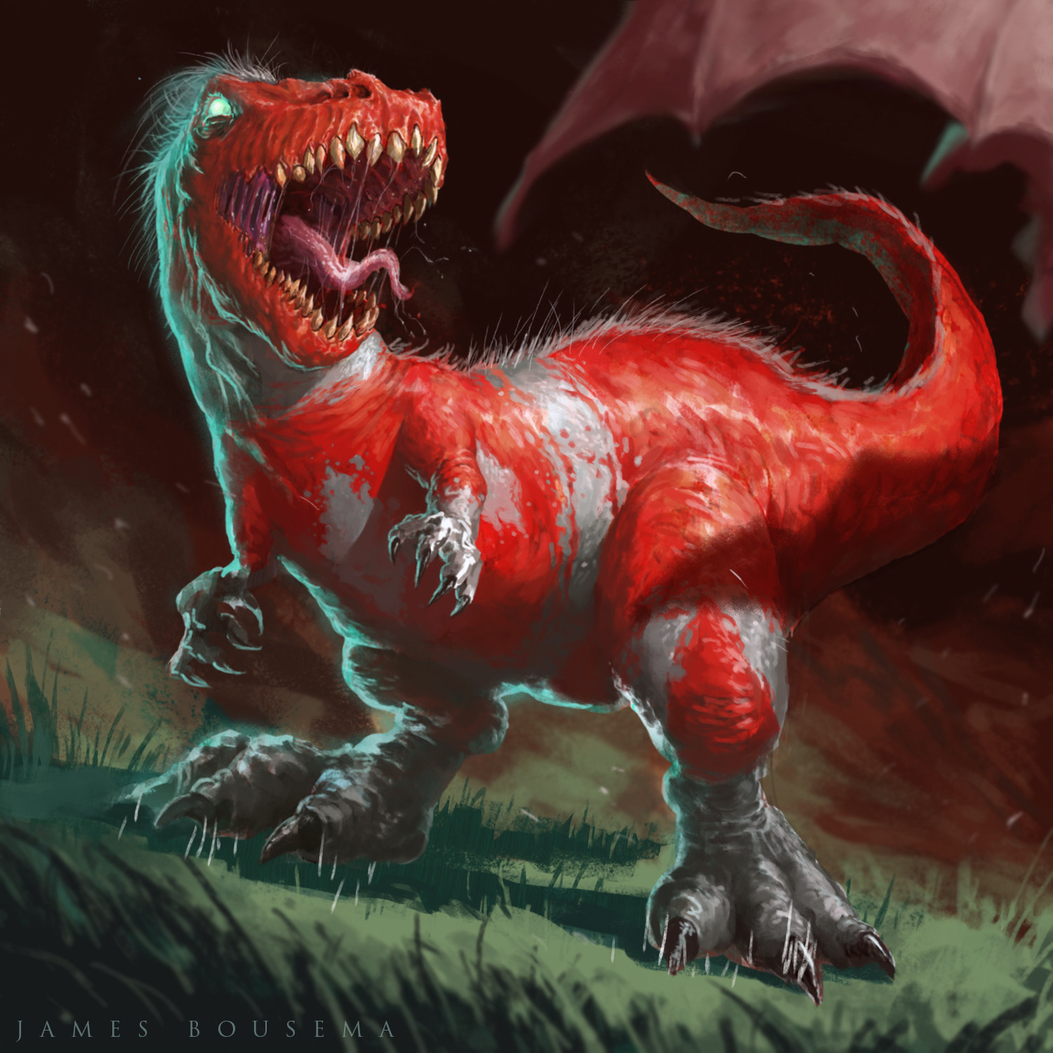 James bousema red rex