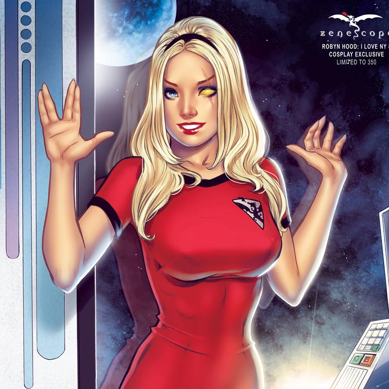 Robyn as Spock