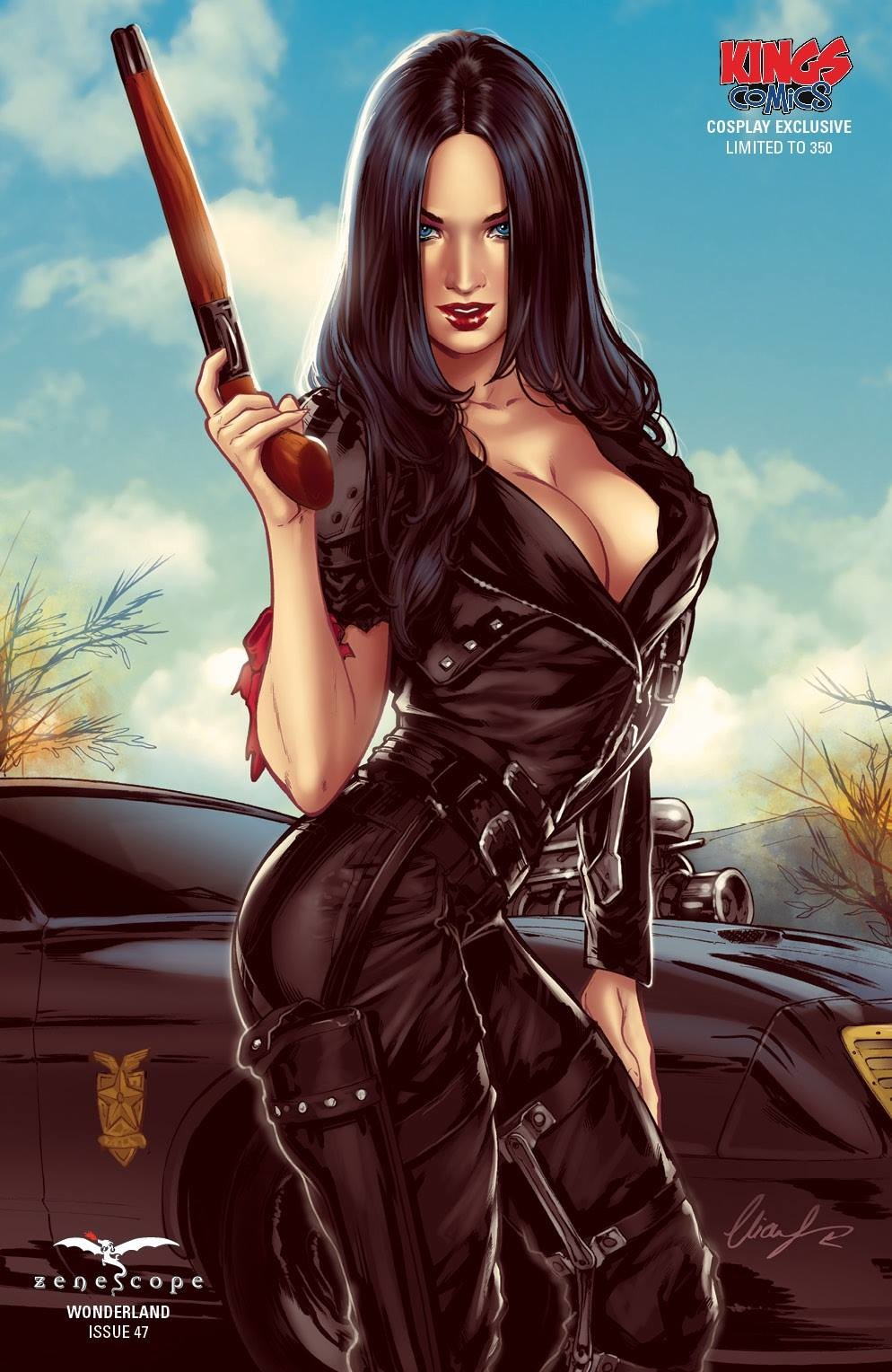 Elias chatzoudis callie zenescope by elias chatzoudis da5rmc5