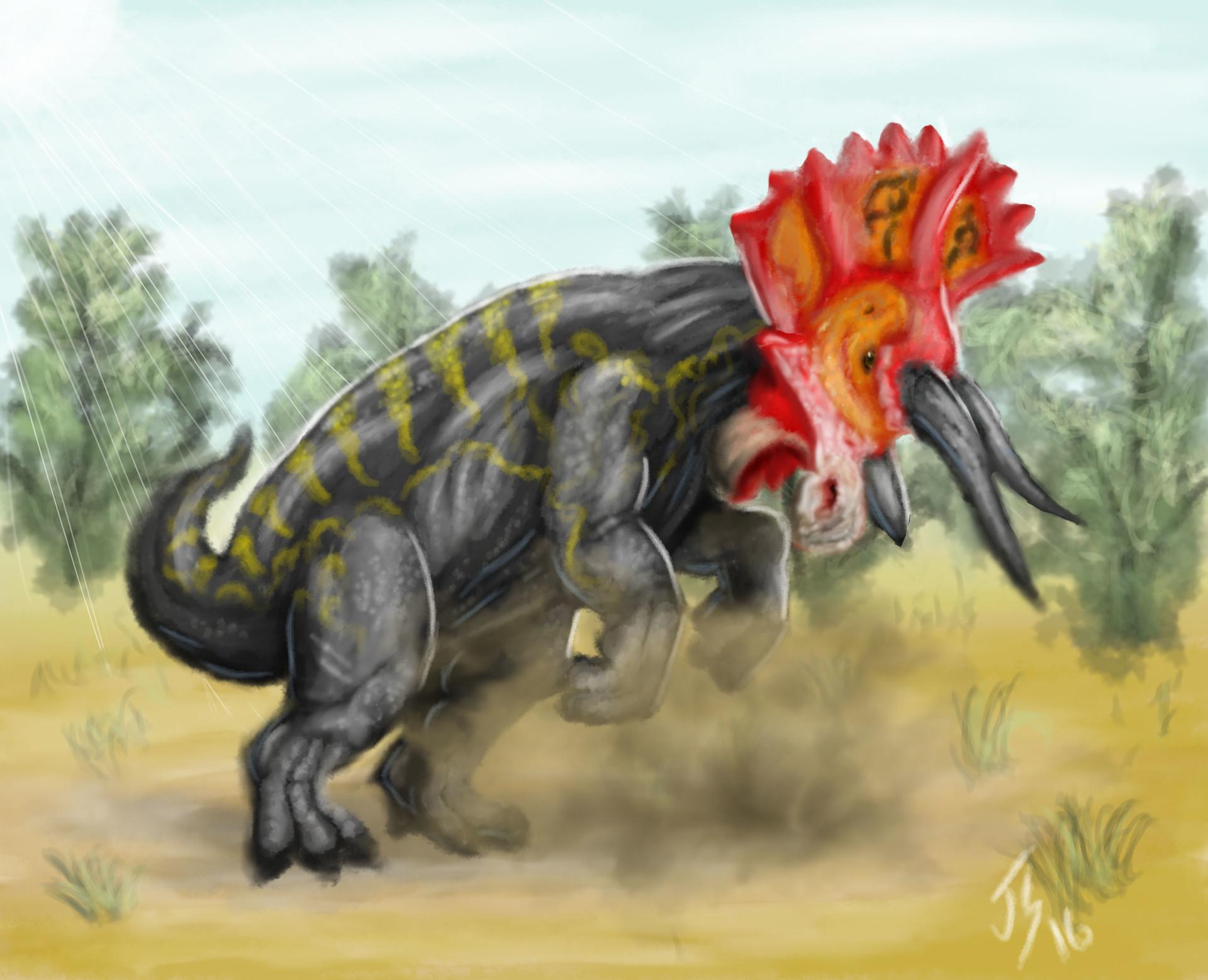 Joey shifflett triceratopscard