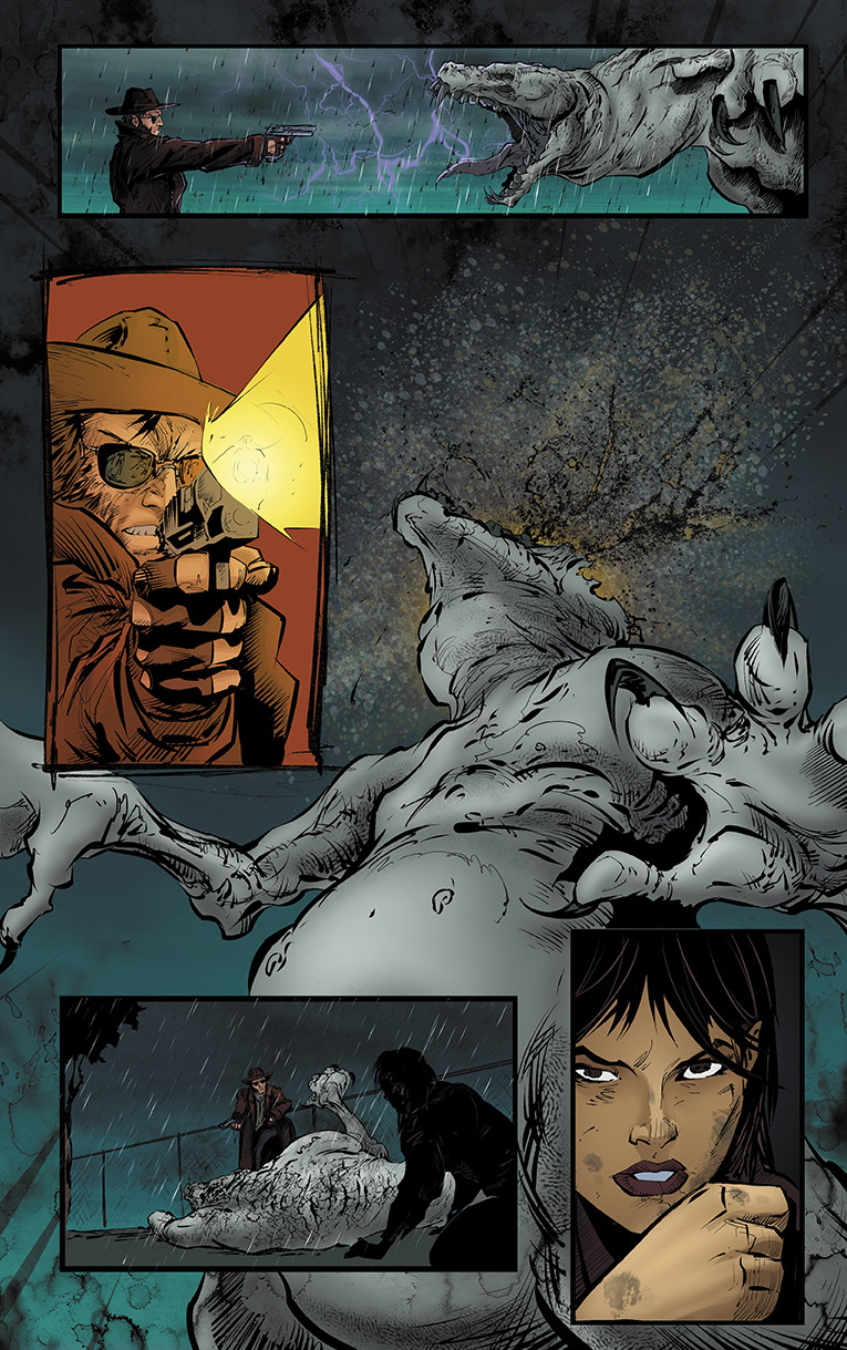 Bullets and Angels Issue 2 page 4