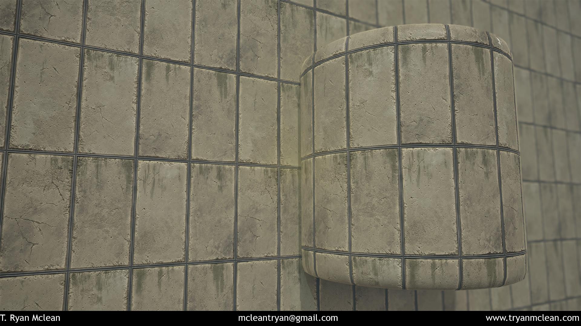 Broken Concrete Panels
