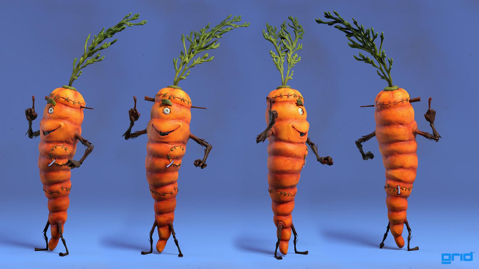 Veggiestein - Carrot