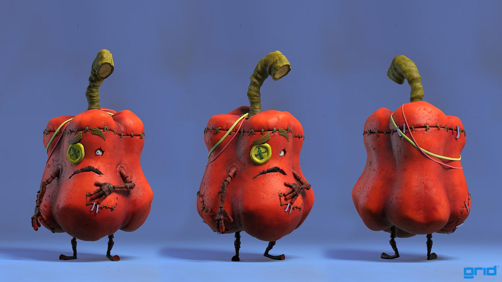 Veggiestein - Pepper