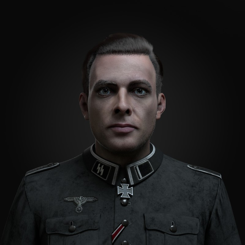 German Soldier Portrait