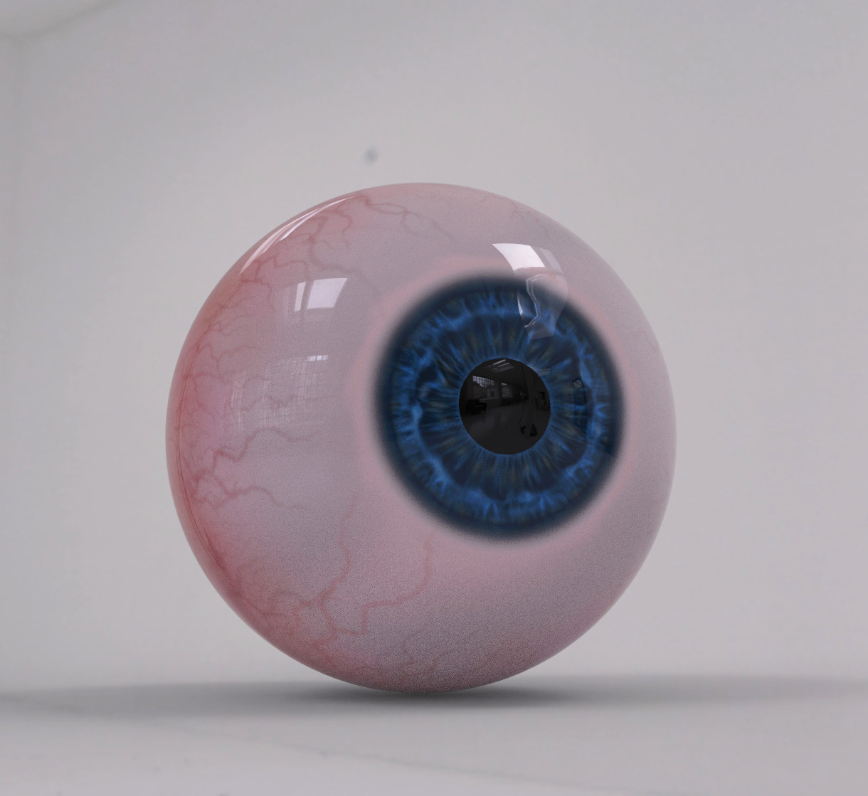Eyeball's first photoshoot