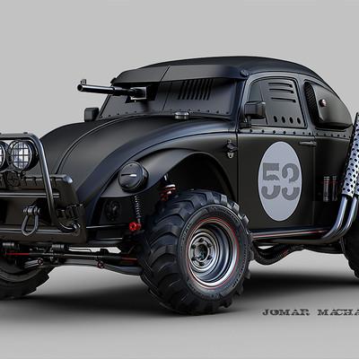 Jomar machado dark beetle peq