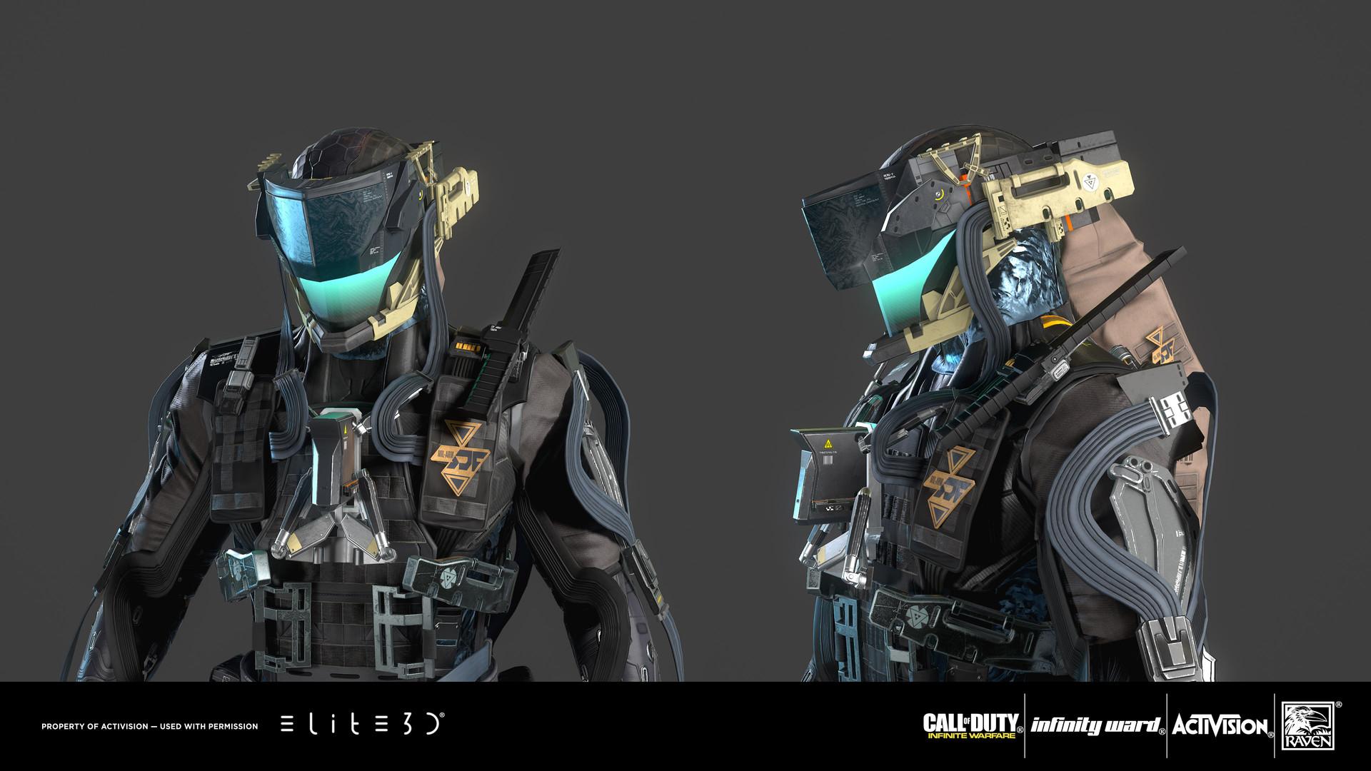 Artstation Call Of Duty Infinite Warfare Ftl Characters