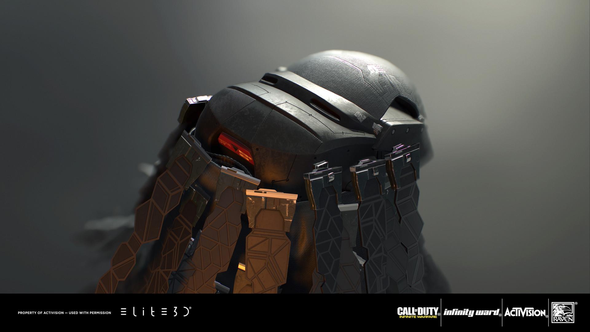 Artstation Call Of Duty Infinite Warfare Phantom Character
