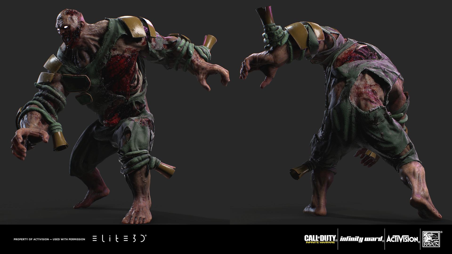 Wallpaper Zombies 3d