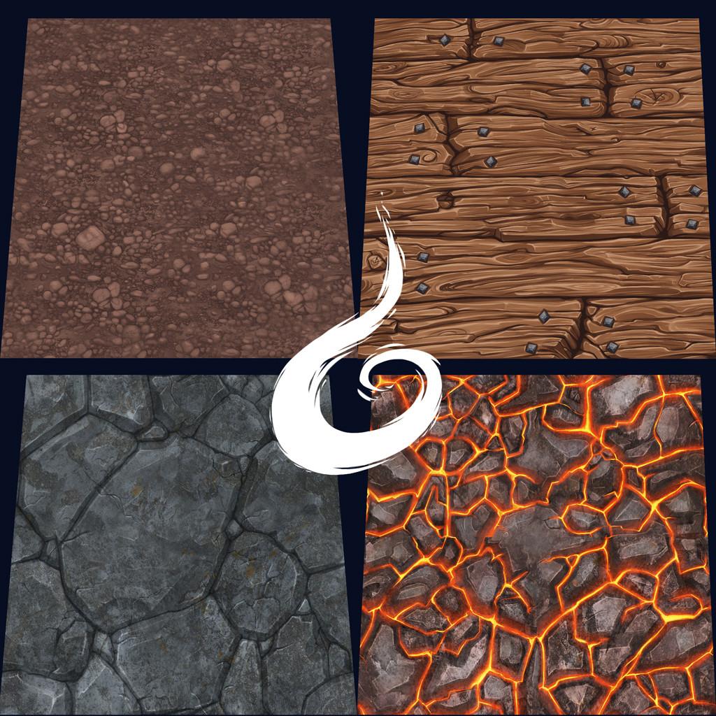 Handpainted Textures 01