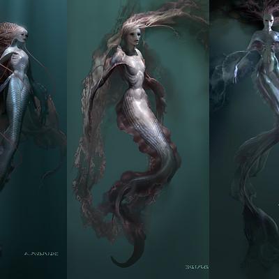 Aaron mcbride mermaid pasteup