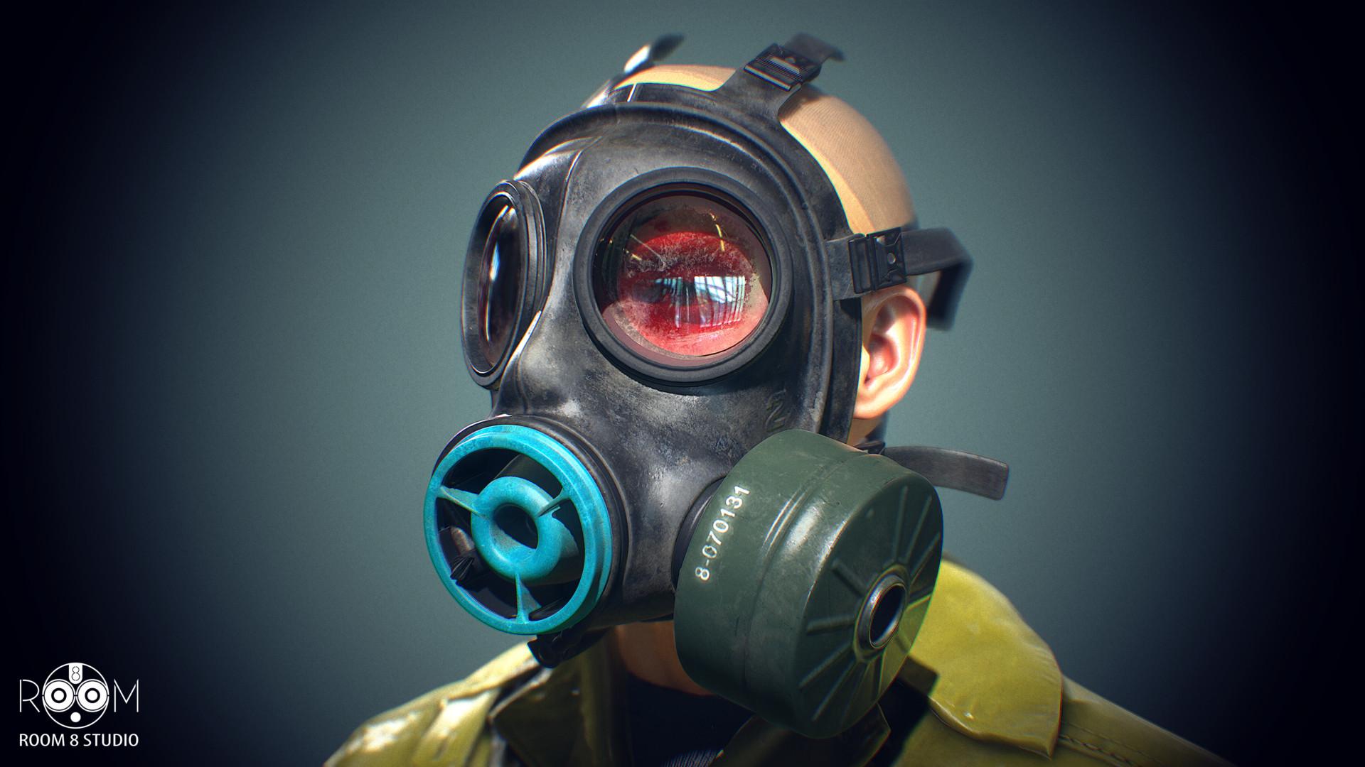 Room 8 studio gasmask 02