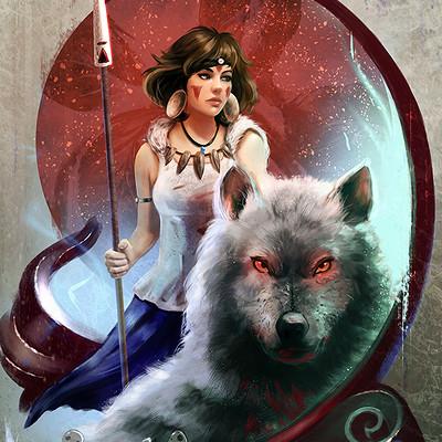 Raivis draka princess mononoke