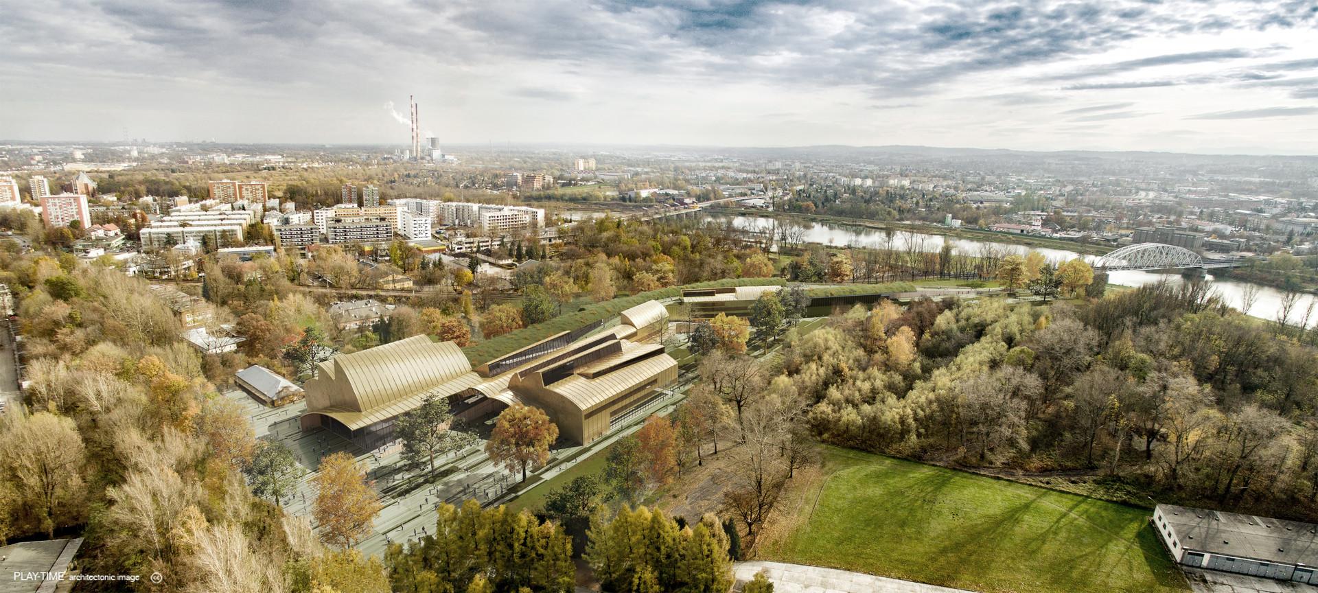 Play time architectonic image eovastudio conservatory in crackovia 02